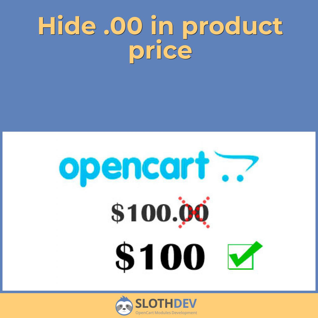 Hide .00 in product price