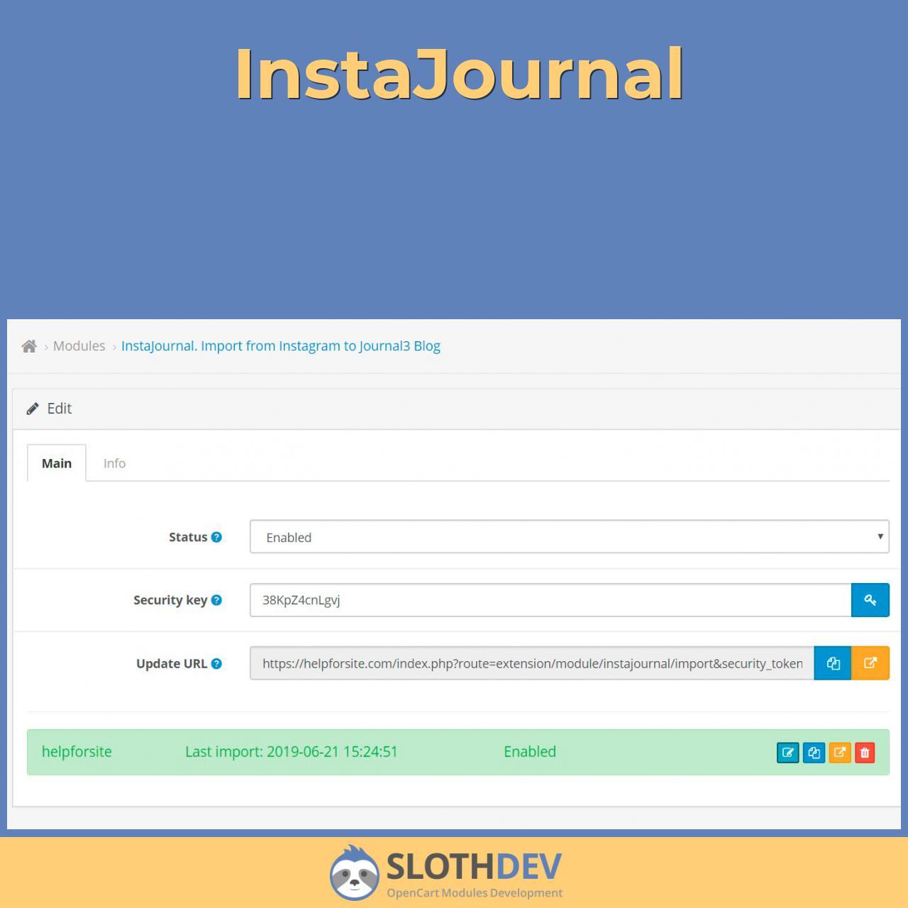 InstaJournal