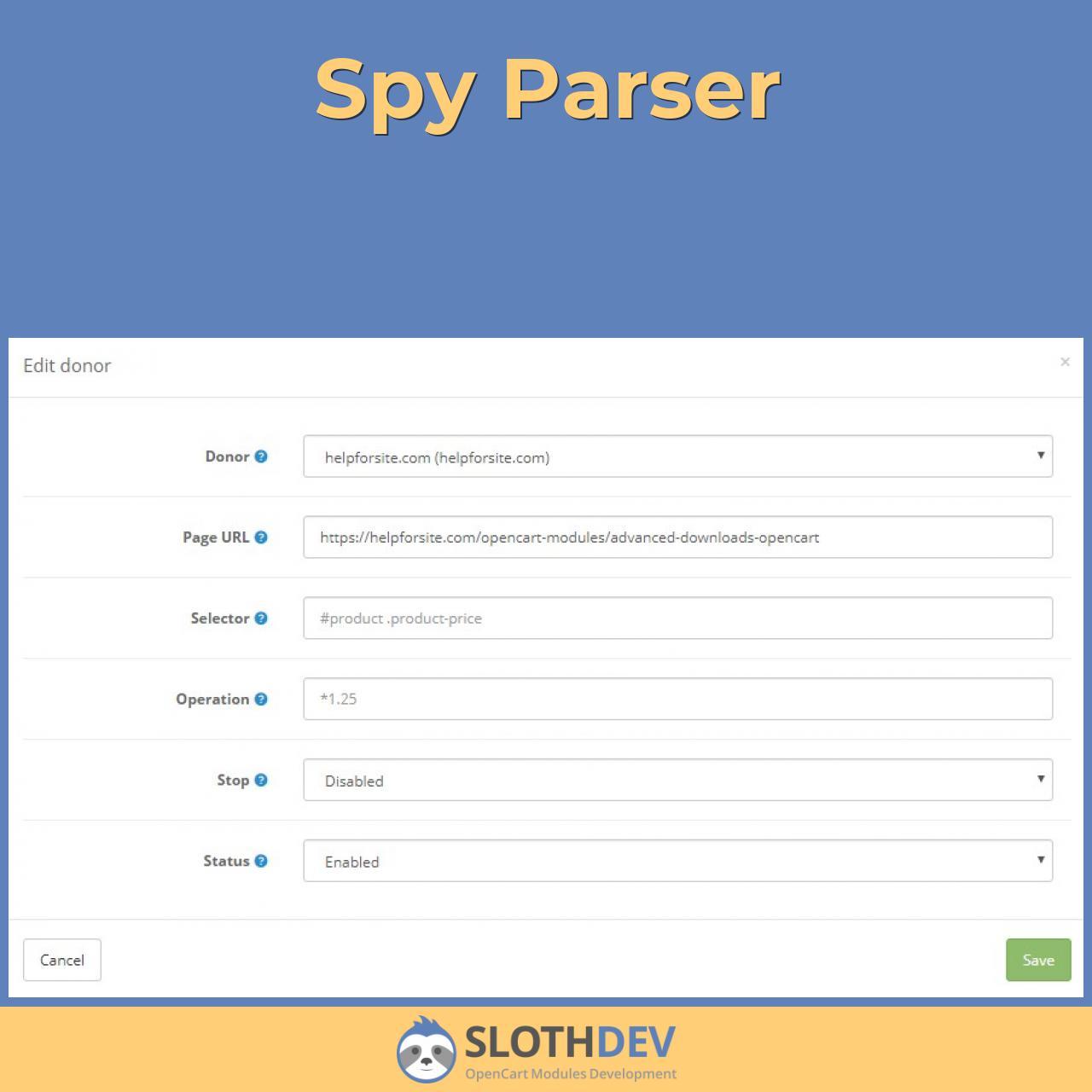 Spy Parser