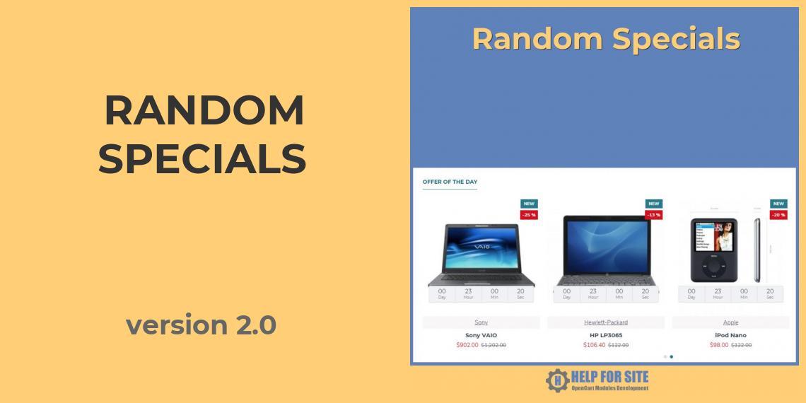 Random Specials version 2.0